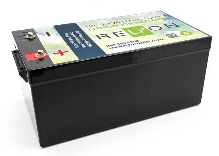 ReLion Lithium Battery