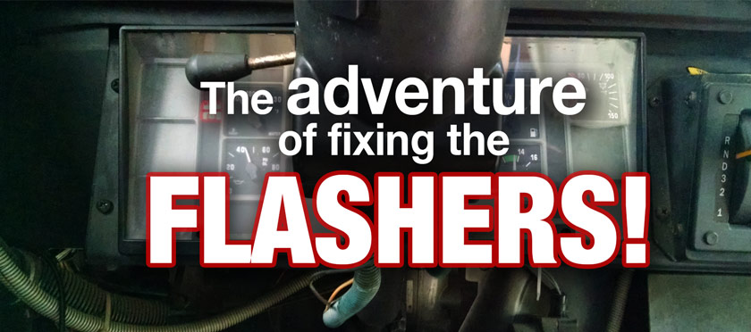 Fixing the Flashers in a Skoolie