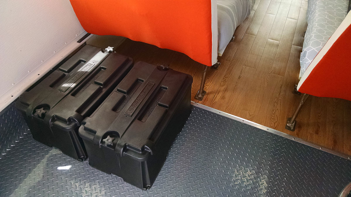 Lithium battery boxes