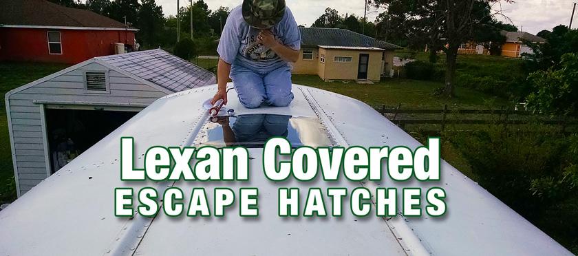 Skoolie Escape Hatch Replacement