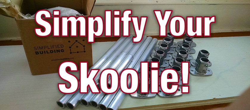 Skoolie Counter Building Simplified