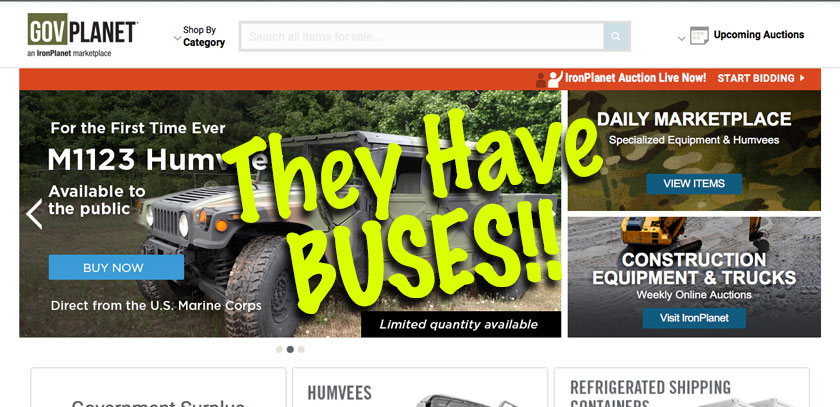 Where to Buy a Used School Bus?